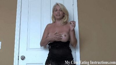 My Cum Eating Instructions videos